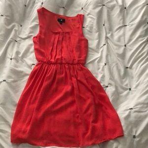 Iz Byer Coral Dress